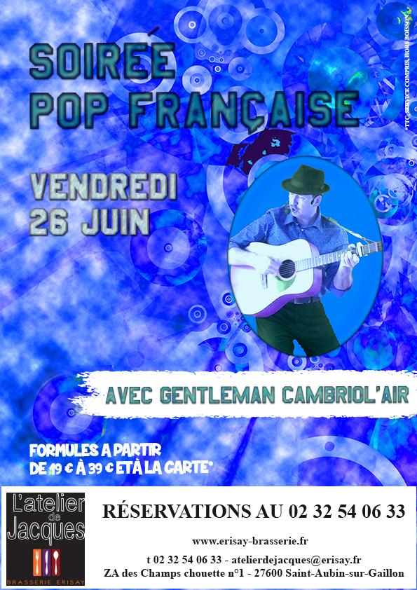 Soirée POP Française