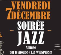 Soirée Jazz – Vendredi 7 décembre